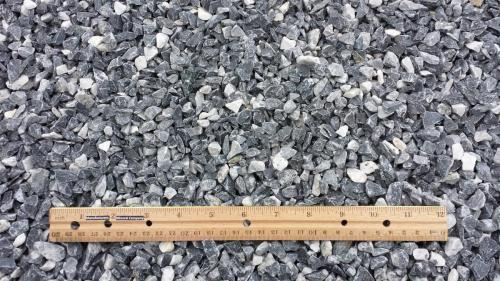 Salt & Pepper Limestone ½ Inch